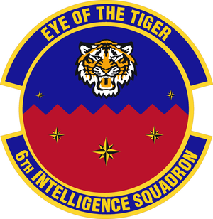 6th Intelligence Squadron - Image: 6 Intelligence Sq emblem