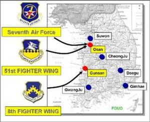 Seventh Air Force - 7th Air Force Bases
