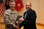 82nd Airborne Division Commanding General presents special book to Division Museum 140121-A-FO214-214.jpg