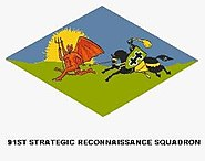 91st Strategic Reconnaissance Squadron (emblem - Korean War)