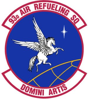 93d Air Refueling Squadron - 165 px