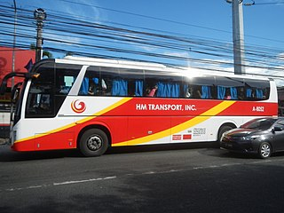 HM Transport Bus company in the Philippines