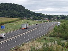 A5 south, the Nesscliffe by-pass - geograph.org.uk - 541155.jpg
