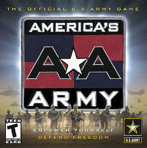 America's Army - Box art for the original game