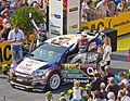ADAC Rallye Deutschland 2013 - Fahrerpräsentation auf dem Roncalliplatz - Qatar World Rally Team - Thierry Neuville-4669.jpg