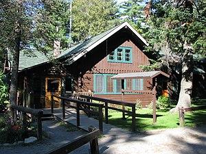 Adirondak Loj - The Loj, rebuilt in 1928