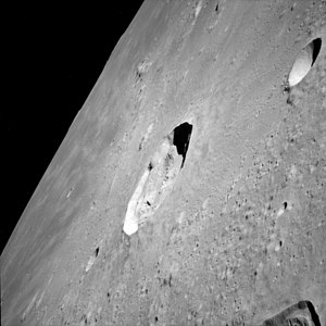 Kepler (lunar crater) - Kepler from Apollo 12. NASA photo.