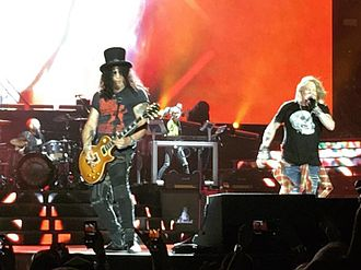 MTV Video Music Award for Best Rock Video - Image: AXL & SLASH (27434284284) (cropped)