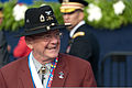 A Korean War veteran attends an event marking the 60th anniversary of the armistice agreement ending the war July 27, 2013, at the Korean War Veterans Memorial in Washington, D.C 130727-A-VS818-164.jpg