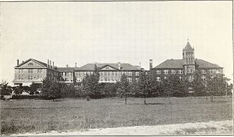 Lander University - Lander College, Greenwood, S. C., in 1915