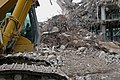 A close-up photo of the demolition of the C.S. Post Building Amsterdam on Oosterdokseiland, February 2011..jpg