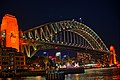 A close view of Sydney Harbour Bridge at night.jpg