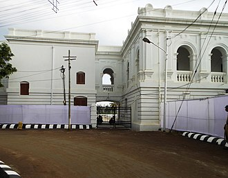 Ujjayanta Palace - Image: A part of the northern area of the palace