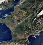 A virtually cloudless Western Europe.jpg