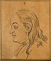 A woman whose face exemplifies the phlegmatic temperament. D Wellcome V0009108EL.jpg
