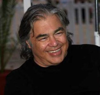 Aaron Russo - Russo promoting his film America: Freedom to Fascism