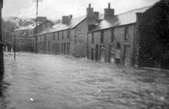 Abernant, Rhondda Cynon Taf - Image: Abernant flooding Dec 1912
