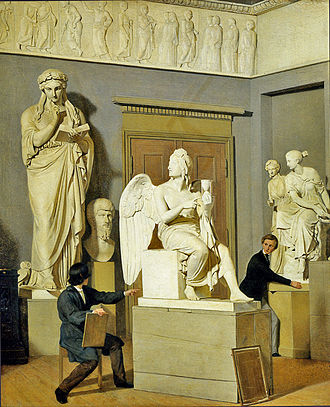 Julius Exner - From the Art Academy's Plaster Cast Collection (1843)