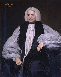 Thomas Secker Archbishop of Canterbury
