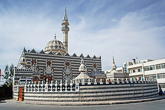 Circassians - The mosque of Abu Darwish (Adyghe descendant), one of the oldest mosques in Amman and considered as a major landmark.