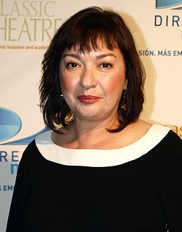 Actress, Elizabeth Pena at the 2009 East Classic Theater Fundraiser.jpg