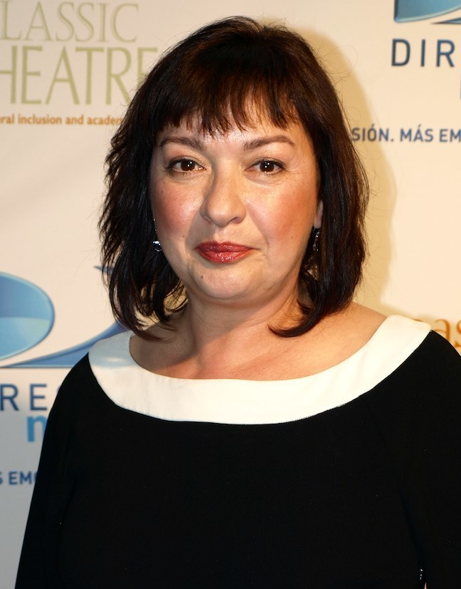 Actress, Elizabeth Pena at the 2009 East Classic Theater Fundraiser