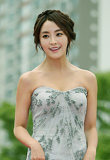 Actress Jeong Yu-mi (born 1984) arrives at the red carpet event of the Pifan in Bucheon on July 17, 2014.jpg