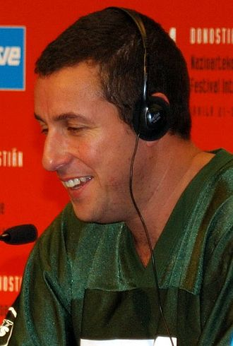 Adam Sandler - Sandler at a press conference for Click in 2005