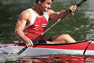Adam van Koeverden Canadian canoeist