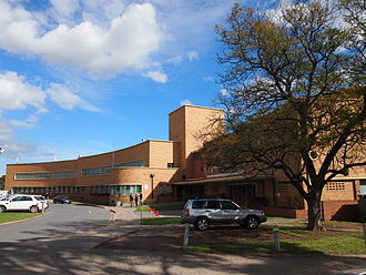Adelaide High School - Adelaide High School, viewed from near the corner of West Terrace and Glover Avenue
