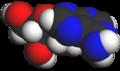 Adenosine spacefilling.png
