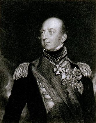 Battle of Navarino - Vice-Admiral Sir Edward Codrington, Allied commander-in-chief at the Battle of Navarino