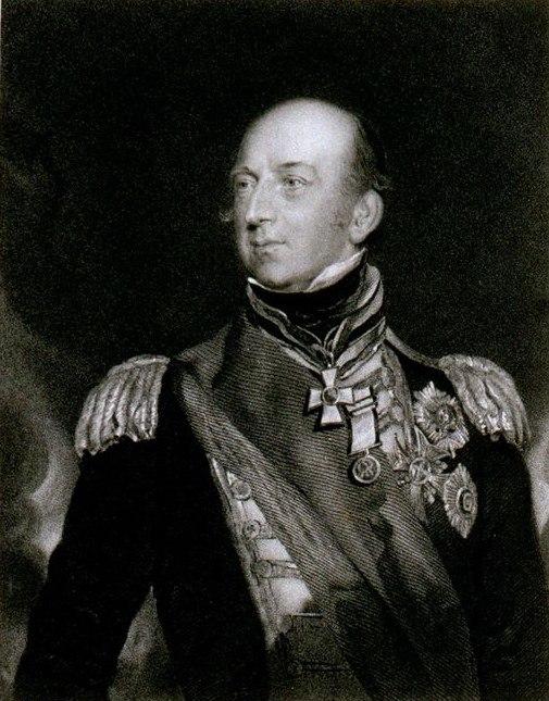 Admiral Edward Codrington