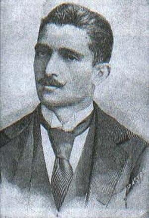 Adolfo Caminha - A photograph depicting Caminha