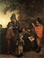 Adriaen van Ostade - The Stall-keeper - WGA16752.jpg