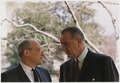 Advisors, Walt Rostow and President Lyndon B. Johnson - NARA - 192544.tif