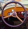 Aero innenraum bj 1934 (cropped) steering wheel.JPG