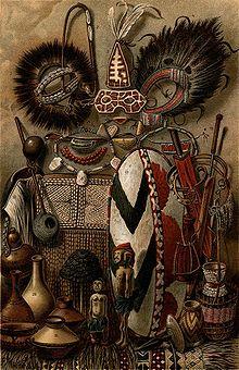 Una rappresentazione multiforme dell arte africana. f190465c88a7