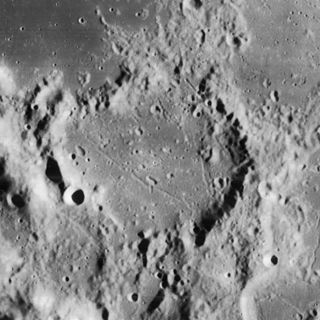 Agatharchides (crater) impact crater