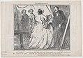 Ah! madame,....vous venez de nous jouer Marivaux comme jamais on ne l'avait joué..., from Les Comediens de Société, published in Le Charivari, April 28, 1858 MET DP876699.jpg