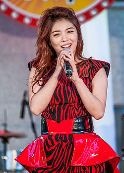 Ailee (South Korean singer) on Oct 11, 2013.jpg