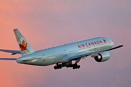 에어캐나다의 보잉 777-200LR