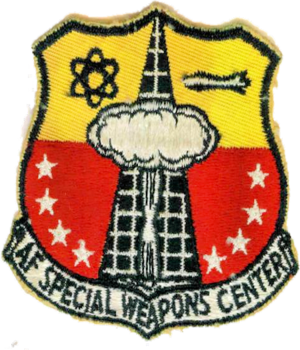 Air Force Nuclear Weapons Center - Emblem of the USAF Special Weapons Center