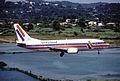 Air Holland Boeing 737-3L9; PH-OZA@CFU, June 1995 CWL (5288934566).jpg