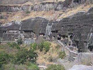 Ajanta Caves Ancient Buddhist cave monuments in Maharashtra India