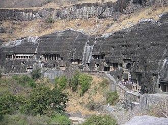 Vakataka dynasty - Image: Ajanta (63)