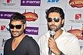 Ajay Devgn, Abhishek Bachchan Cast of 'Bol Bachchan' meet fans at Fame Inorbit Mall 08.jpg