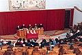 Akademische Stizung an der Universität Urbaniana unter Vorsitz von J. Kardinal Ratzinger. 12. Januar 1991.jpg
