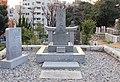 Akiyama Yoshifuru in the Aoyama Cemetery.JPG
