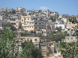 Jalazone Refugee Camp in Ramallah and al-Bireh Governorate